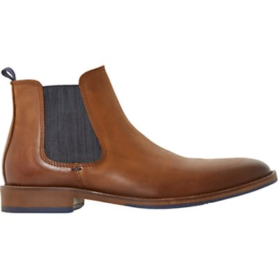 Dune Conor Leather Chelsea Boots  Tan - 5057661013141