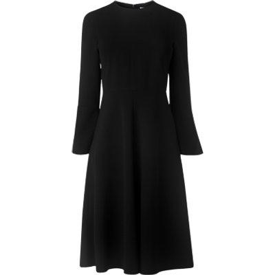 L K  Bennett Caggie Midi Dress  Black - 5054760317668