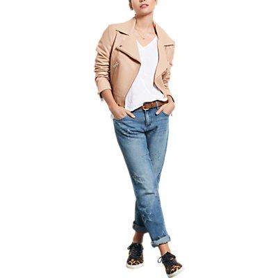 hush Frayed Star Jeans  Denim - 5056069591244