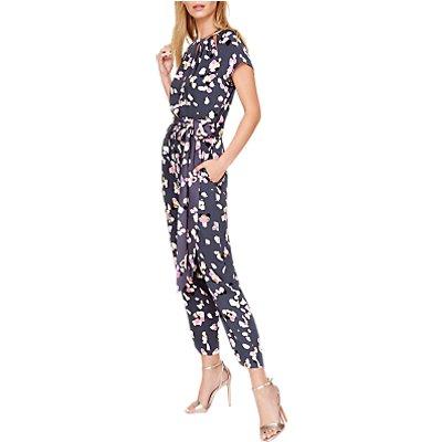 Damsel in a Dress Petal Print Jumpsuit, Multi