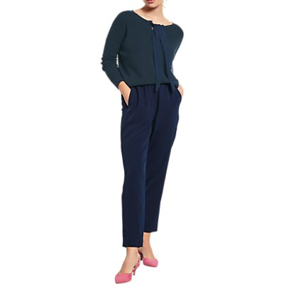 hush Frances Trousers  Midnight - 5056069591428