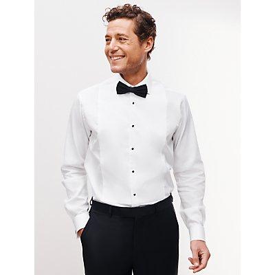 John Lewis & Partners Marcella Slim Fit Dress Shirt, White