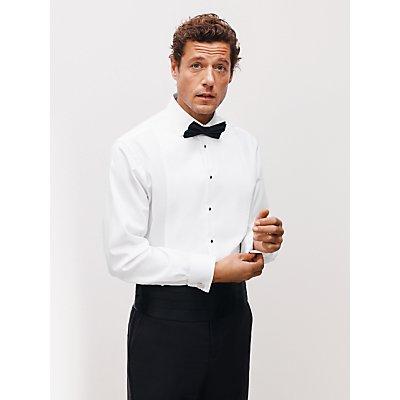 John Lewis & Partners Marcella Point Collar Regular Fit Dress Shirt, White
