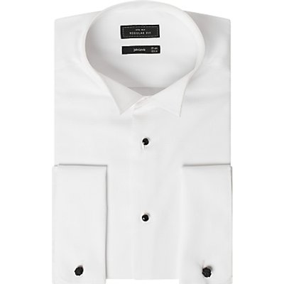 John Lewis & Partners Marcella Regular Fit Wing Collar Dress Shirt, White