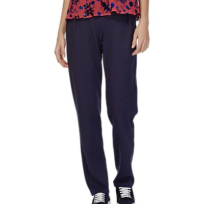 Brora Tailored Jersey Trousers  French Navy - 5056175553686