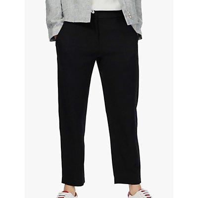 Brora Wool Crepe Trousers  Black - 5056175511013