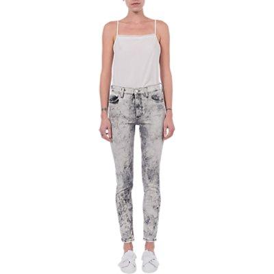 French Connection Skinny Stretch Rebound Denim Jeans  Acid - 889042602652