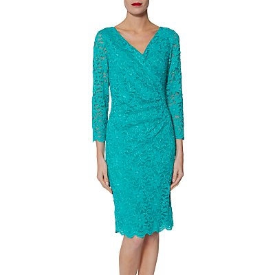 Gina Bacconi June Floral Lace Dress
