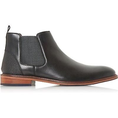 Dune Mezut Leather Chelsea Boots  Black - 5057661040888