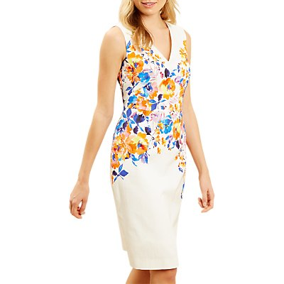 Fenn Wright Manson Roula Dress, Cream/Orange