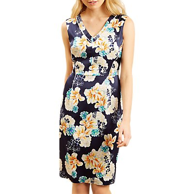 Fenn Wright Manson Reya Dress, Navy Print