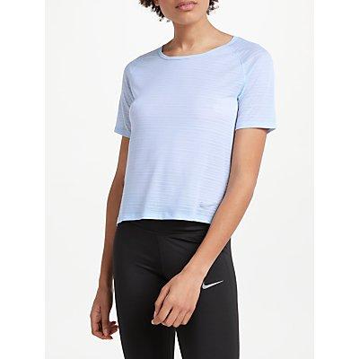 Nike Cool Miler Short Sleeve Running Top  Royal Tint - 888413840921