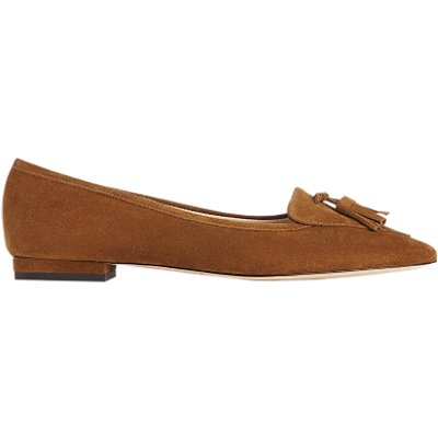 L K  Bennett Dixie Pointed Toe Loafers - 5054760318085