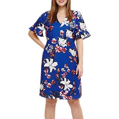 Studio 8 Priscilla Floral Dress, Blue/Multi