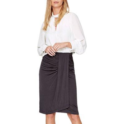 Damsel in a Dress Selma Slinky Skirt, Charcoal