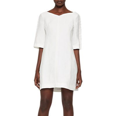 French Connection Dominica Cluster Dress, Summer White