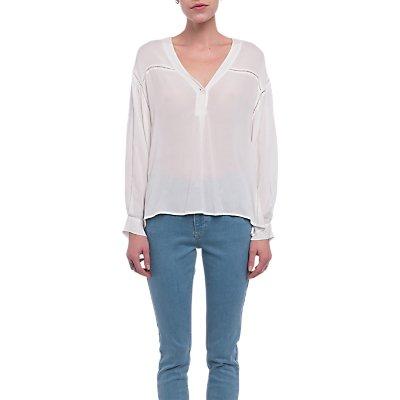 French Connection Avea Oversize Shirt, Summer White