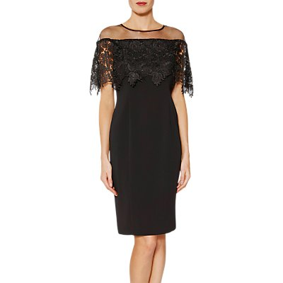 Gina Bacconi Manuela Embroidered Bodice Dress