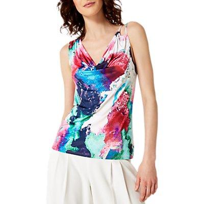 Damsel in a Dress Amazon Print Jersey Top, Multi