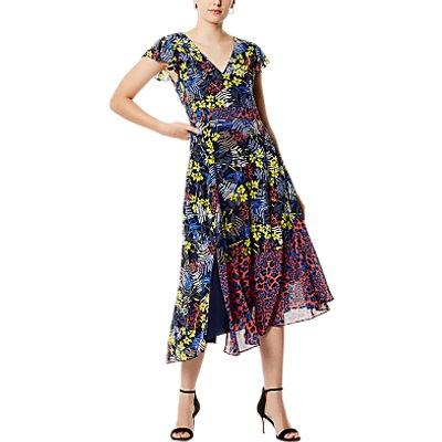 Karen Millen Sporty Floral Dress, Multi