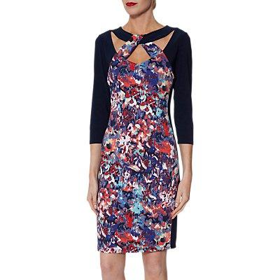 Gina Bacconi Khadija Jersey Dress, Multi