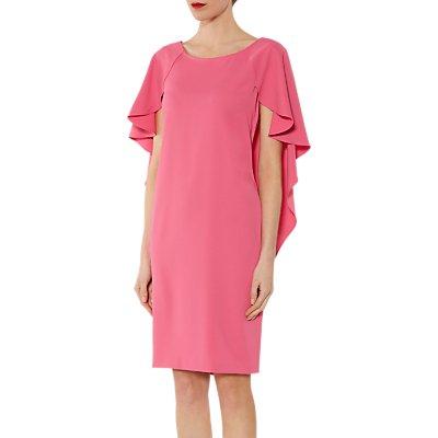 Gina Bacconi Simone Crepe Dress And Cape