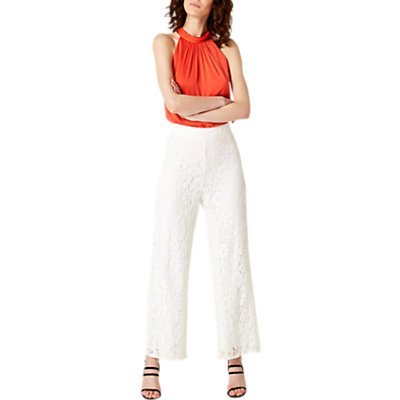 Damsel in a Dress Julietta Lace Trousers, Cream