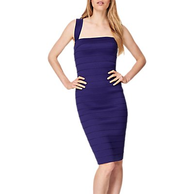 Damsel in a Dress Jasmine Bandage Dress, Purple