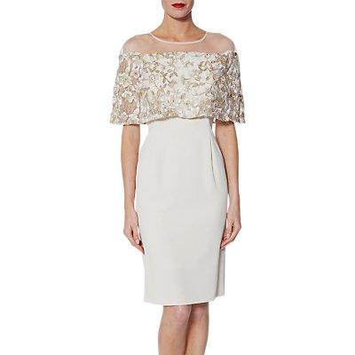 Gina Bacconi Carly Embroidered Dress