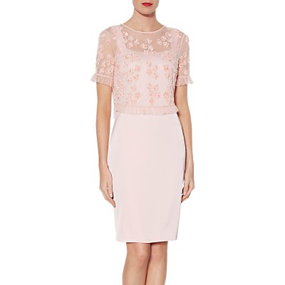 Gina Bacconi Cherie Dress, Rose Petal