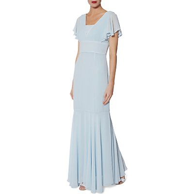 Gina Bacconi Sylvia Chiffon Maxi Dress