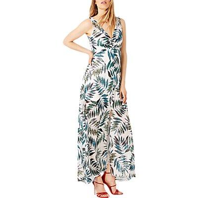 Damsel in a Dress Nadia Snake Palm Maxi Dress, Multi