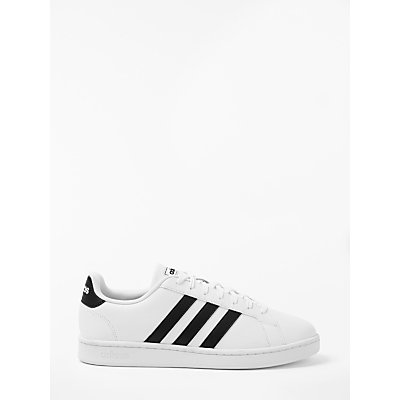 adidas Grand Court Men's Trainers, FTWR White/Core Black