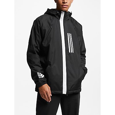 adidas WND Fleece-Lined Jacket, Black