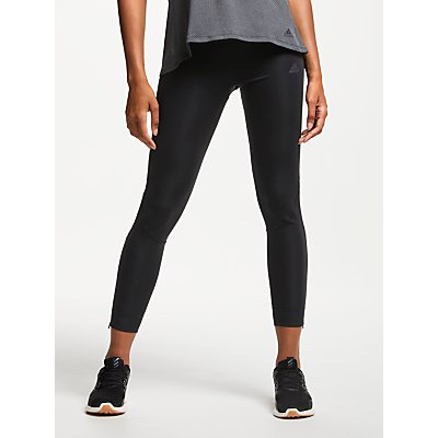 adidas Own The Run Long Running Tights, Black