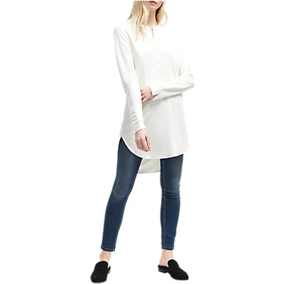 French Connection Sophia Jersey Shirt, Winter White