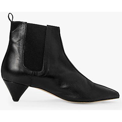 Kin Odelle Leather Cone Heel Chelsea Boots - 5057618594013