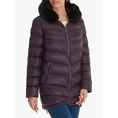 Betty Barclay Quilted Jacket, Light Plum