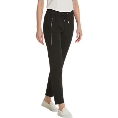 Betty Barclay Pull-On Crepe Trousers, Black