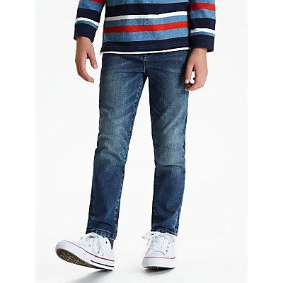 John Lewis & Partners Boys' Slim Fit Jeans, Blue