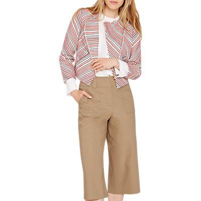 Damsel in a Dress Harri Tweed Crop Jacket, Multi