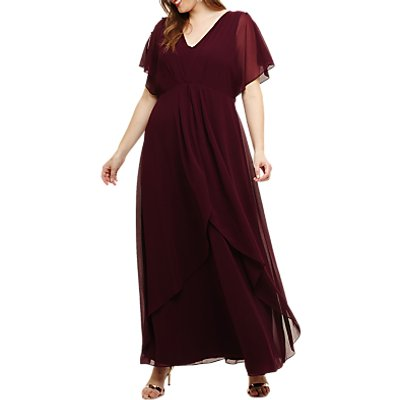Studio 8 Nova Maxi Dress, Berry