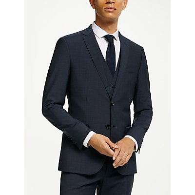 Kin Pindot Slim Fit Suit Jacket, Petrol