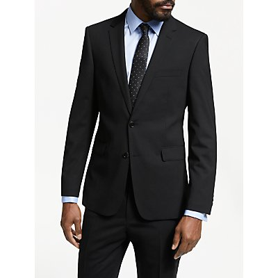 John Lewis & Partners Plain Slim Fit Suit Jacket, Black