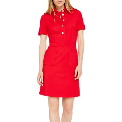 Damsel in a Dress Clio Tunic Dress, Red