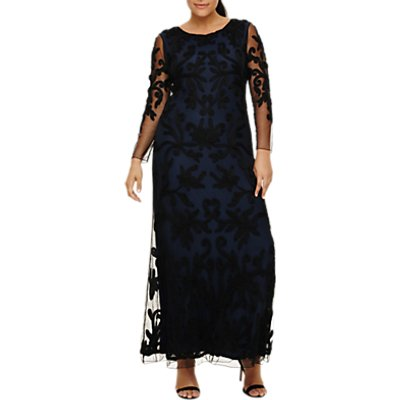 Studio 8 Jenna Maxi Dress, Navy/Black