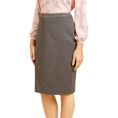 Fenn Wright Manson Petite Raye Skirt, Grey