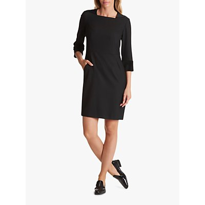 Betty Barclay Crepe Shift Dress, Black