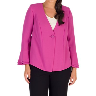 Chesca Tailored Jacket, Magenta