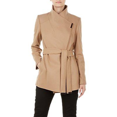 Ted Baker Rytaa Wool Blend Wrap Coat